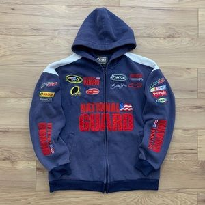 🔹 Dale Earnhardt JR Fully Embroidered Logo Hoodie